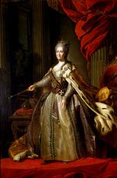 Императрица Екатерина II - Гроссмейстер Военного ордена Св. Георгия